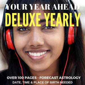 Your deluxe year ahead horoscope is an intensive look at the next twelve months