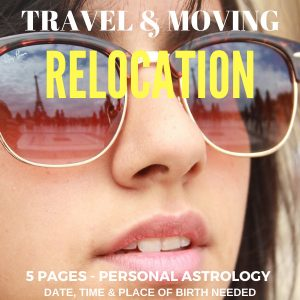 Astrological Relocation Report