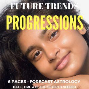 Secondary Progressions Report